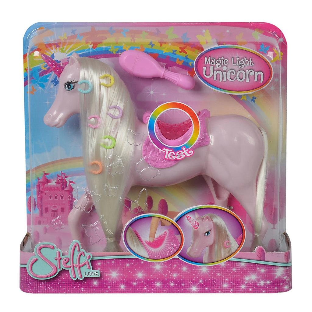 Simba toys Steffi love Licorne magique lumineuse