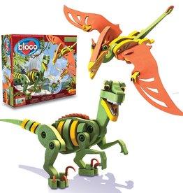 Bloco Vélociraptor & Ptérosaure