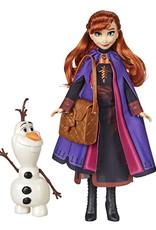 Hasbro La Reine des Neiges 2 Anna et Olaf
