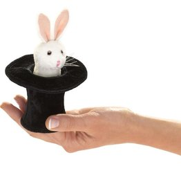 Folkmanis Marionnette mini Lapin dans Chapeau