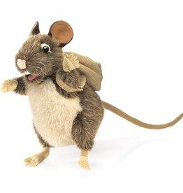 Folkmanis Marionnette Rat avec sac-à-dos