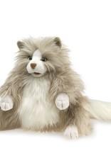 Folkmanis Marionnette Chat grassouillet