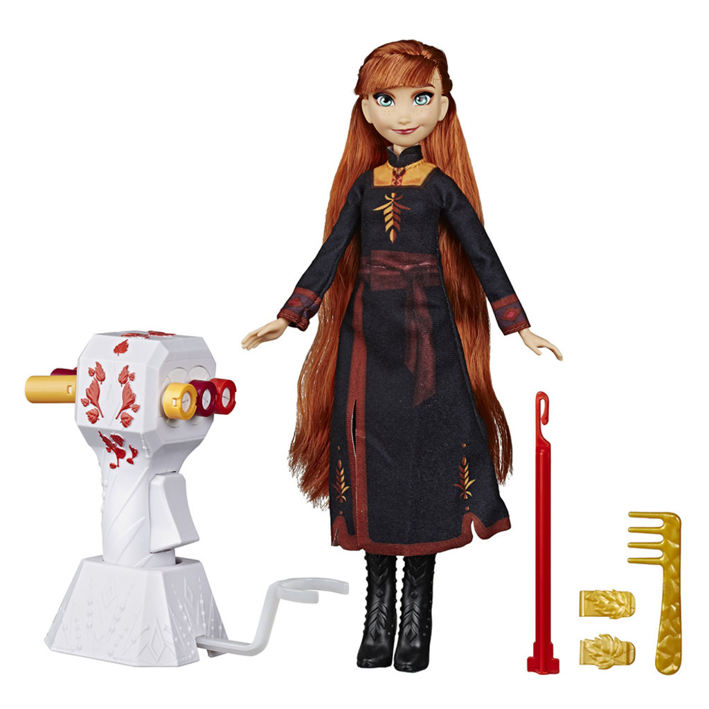 Hasbro La Reine des neiges Poupée Styles tressés Anna