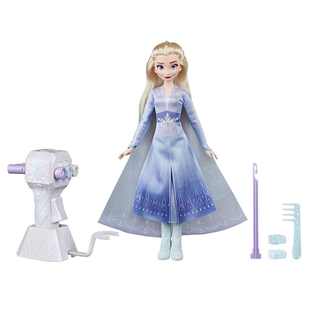 Hasbro La Reine des neiges 2 Poupée Styles tressés Elsa