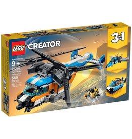 Lego 31096 L'hélicoptère birotor