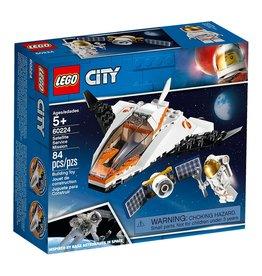 Lego 60224 La mission d'entretien du satellite