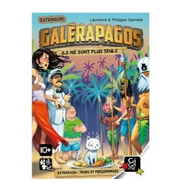 Randolph Galerarapagos extension tribu et personnages