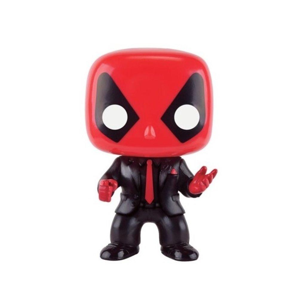 Funko Pop Deadpool Px habillé