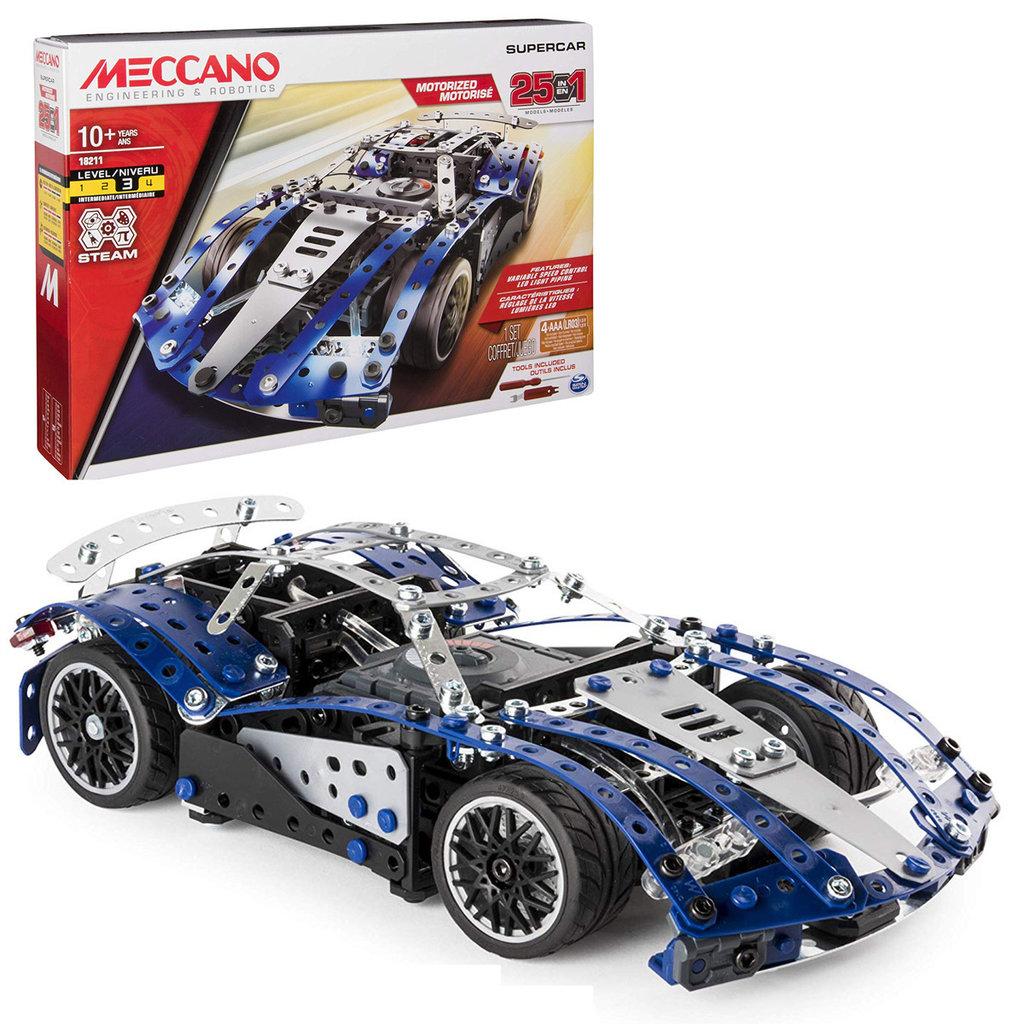 Meccano Super voiture 25 en 1