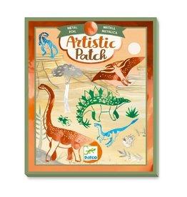 Djeco Artistic patch métal Dinosaurus