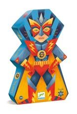 Djeco Puzzle silhouette Laser boy 36 pcs