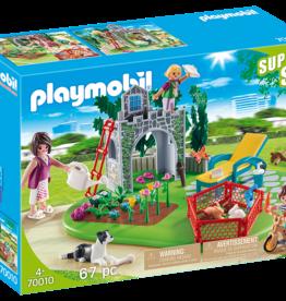 Playmobil 70010 Super Set Famille et jardin