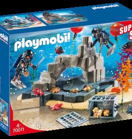 Playmobil 70011 Super Set Unite de plonger sous-marine