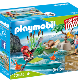 Playmobil 70035 Starter Pack Sportifs et kayak