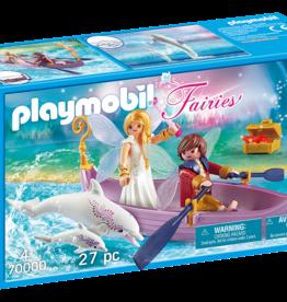Playmobil 70000 Bateau romantique avec couple de fées