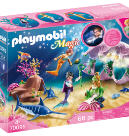 Playmobil 70095 Coquillage lumineux avec sirènes