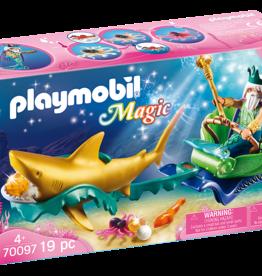 Playmobil 70097 Roi des mers avec calèche royale