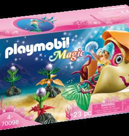 Playmobil 70098 Sirène avec escargot des mers