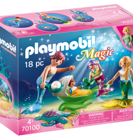Playmobil 70100 Famille de sirènes