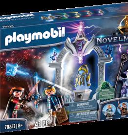 Playmobil 70223 Temple du temps avec chevaliers et magicien