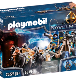Playmobil 70225 Chevaliers Novelmore avec canon et loups