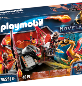 Playmobil 70226 Burham Raiders et dragon doré