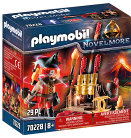 Playmobil 70228 Burham Raiders Maître du feu
