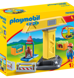 Playmobil 70165 Grue de chantier
