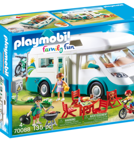 Playmobil 70088 Famille et camping-car