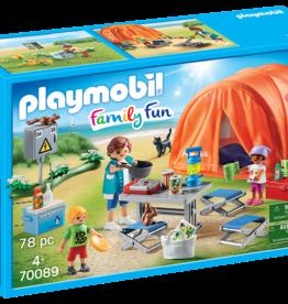 Playmobil 70089 Tente et campeurs