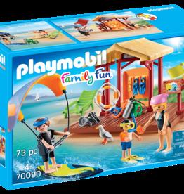 Playmobil 70090 Espace de sports nautiques