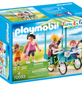 Playmobil 70093 Bicyclette familiale