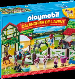 """Playmobil 9262 Calendrier de l'Avent """"Centre équestre"""""""