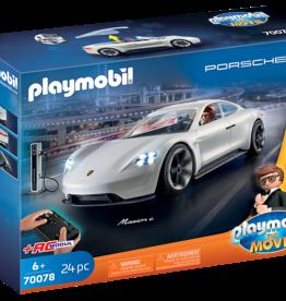 Playmobil 70078 The Movie Rex Dasher et Porsche Mission E