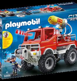 Playmobil 9466 4 x 4 de pompier avec lance-eau