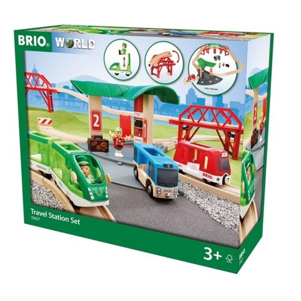 Brio Circuit gare et connexion routière