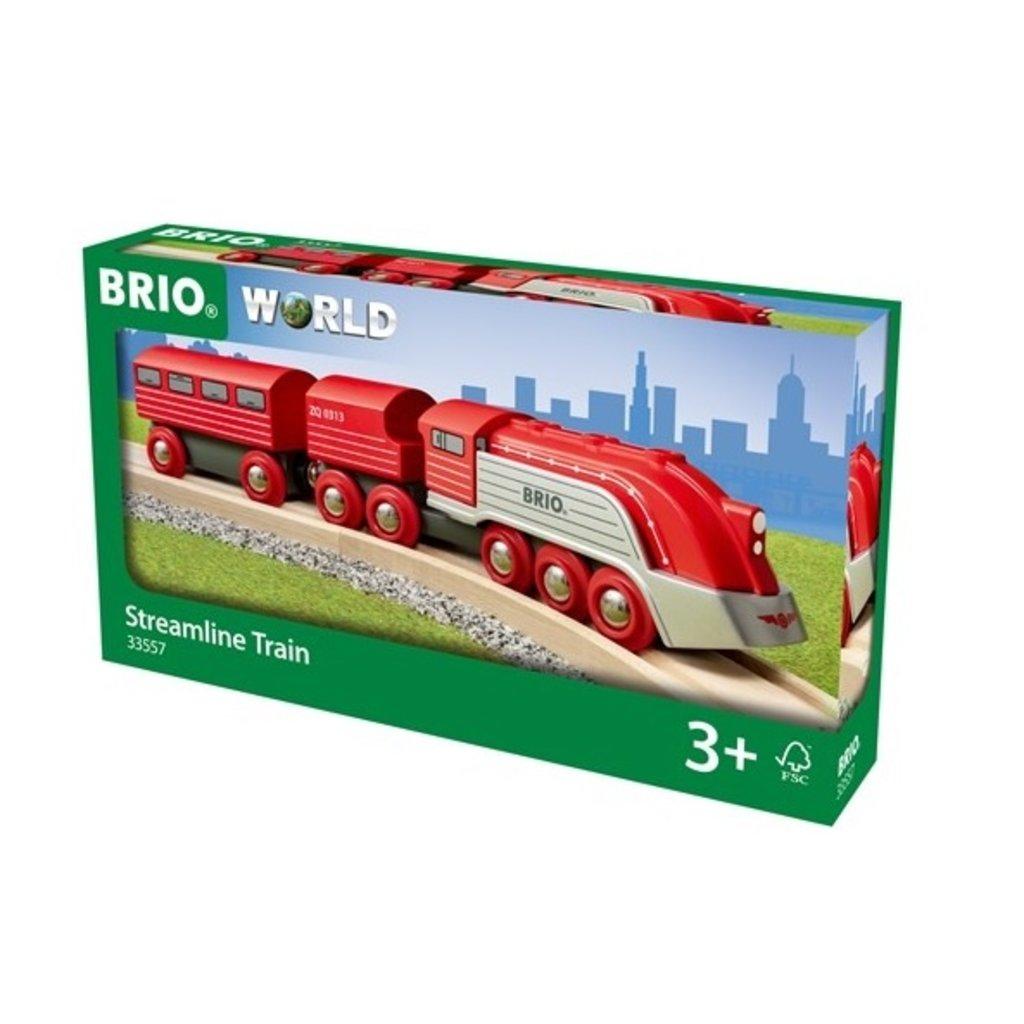 Brio Train aérodynamique