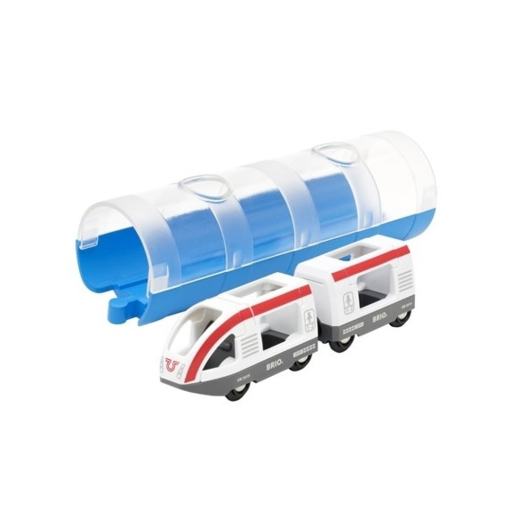 Brio Train de voyageurs et tunnel