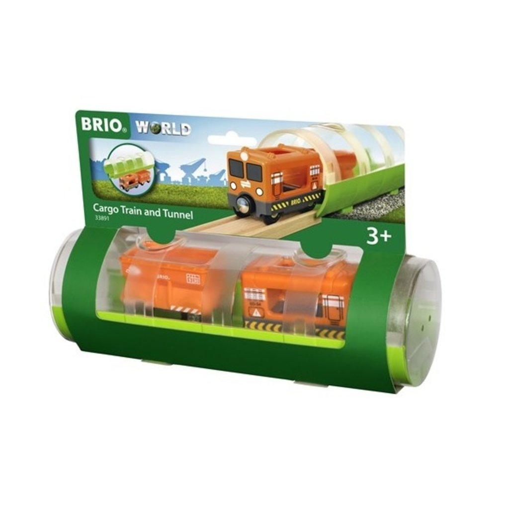 Brio Train Cargo et tunnel