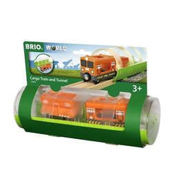 Brio Train Cargo et tunnel