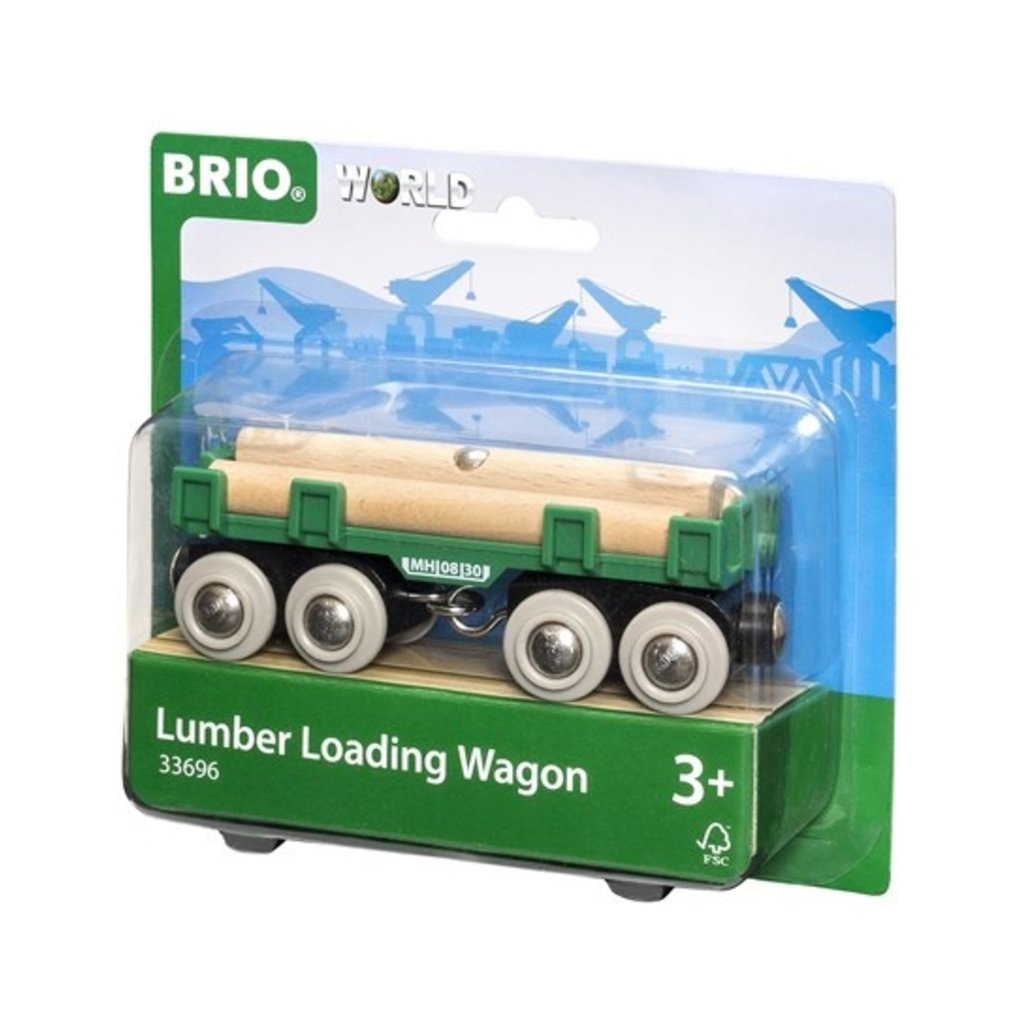 Brio Wagon convoyeur de bois