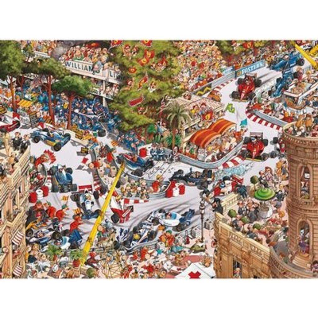 Heye Puzzle 1500mcx, new Monaco Classics, Loup