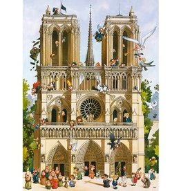 Heye Puzzle 1000mcx, new Vive Notre Dame!, Loup