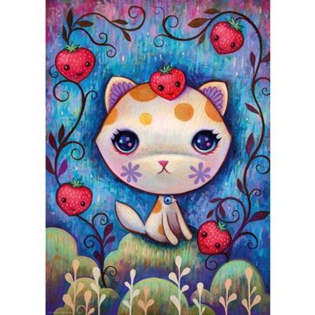 Heye Puzzle 1000mcx, new Strawberry Kitty