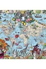 Heye Puzzle 2000mcx,new Quirky World