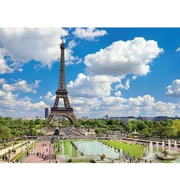 Jumbo Puzzle 1000mcx, Eiffel tower in Summer, Paris