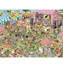 Jan van Haasteren Puzzle 1000mcx, Festival pop, JvH