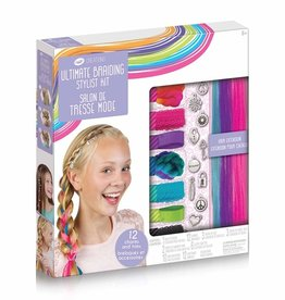 Crayola Ensemble pour tresser les cheveux Ultimate