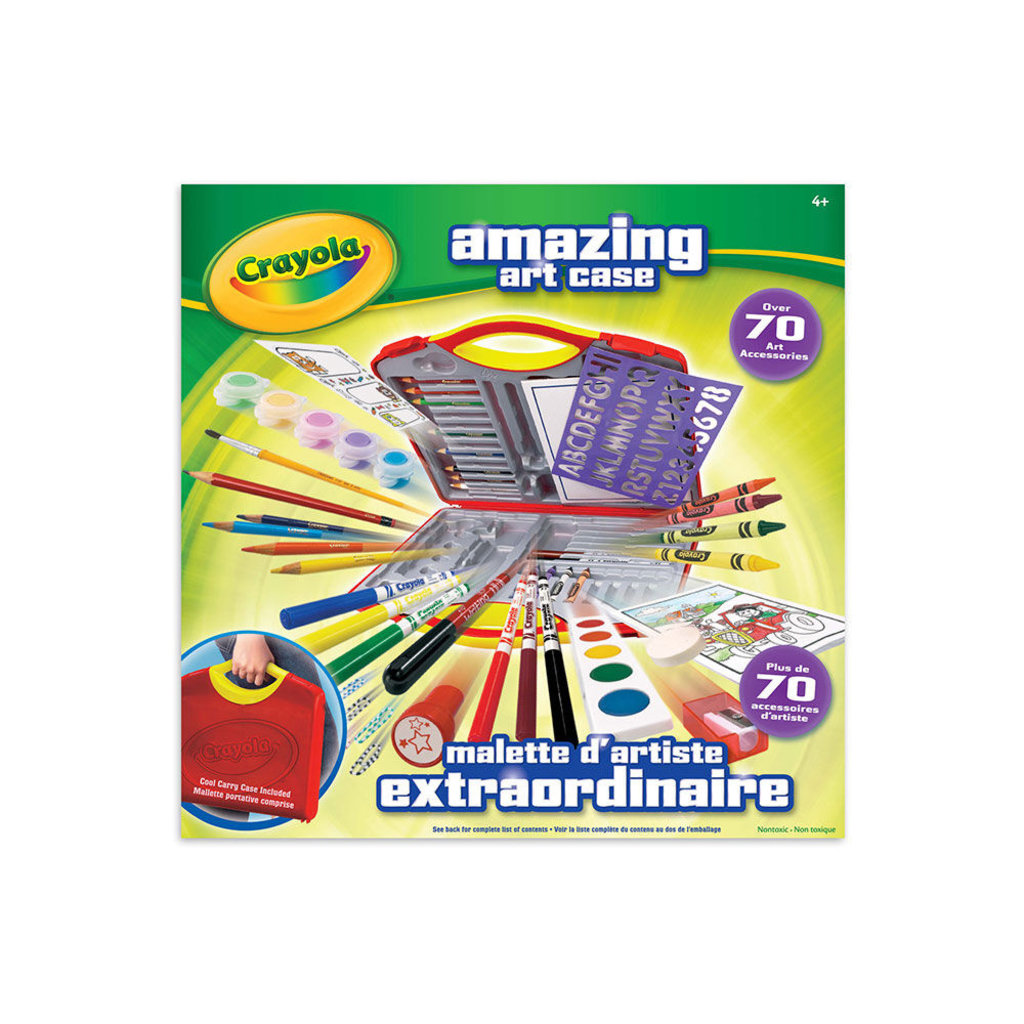Crayola Malette d'artiste extraordinaire