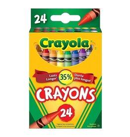 Crayola 24 crayons de cire